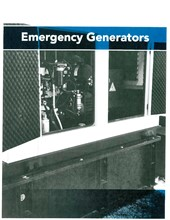 Emergency Generators Emergency Generators